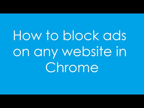 How to block ads on Chrome with Adblock plus