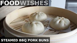 Steamed BBQ Pork Buns (Char Siu Bao)  - Food Wishes by Food Wishes