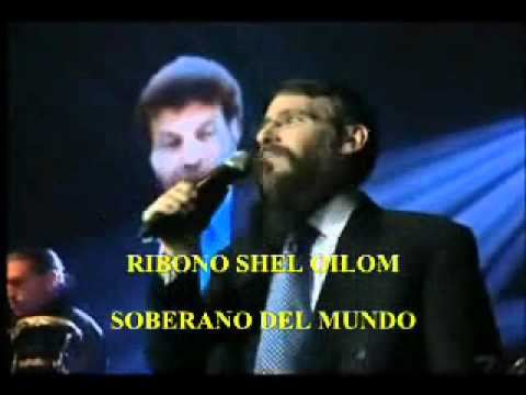 RIBONO SHEL OLAM letra español.wmv