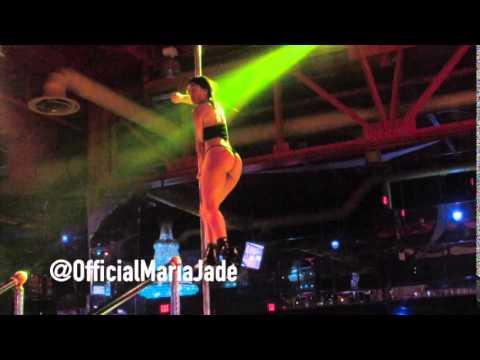 Maria Jade @OfficialMariaJade Live Performance @ King OF Diamonds Miami #ShotByStar @StarCavalli (видео)