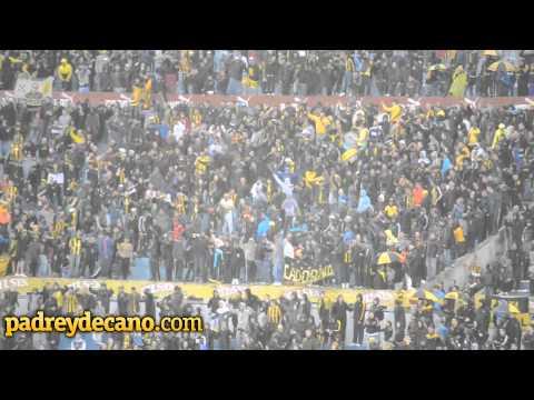 Hinchada Peñarol vs. Juventud - Apertura 2014 - Barra Amsterdam - Peñarol