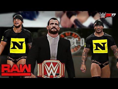 "WWE 2K17 Custom Story - CM Punk Brings Back The ""NEXUS"" ft. Brock Lesnar, The Authority (PS4 & XB1)"