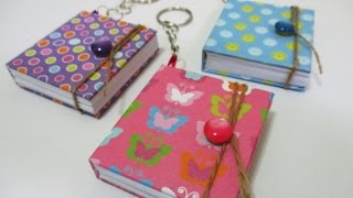 DIY #99 | Mini Notebook Keychain ♥