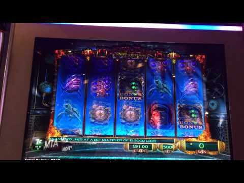 LIVE PLAY on Captain Nemo's Treasures Slot Machine with Big Win - NEW GAME!!!