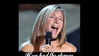 Barbara Streisand - The Way We Were (Lyrics)