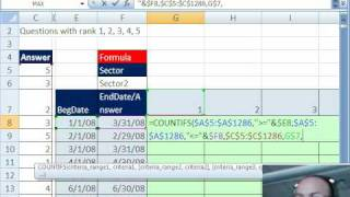 Mr Excel&excelisfun Trick 20: Summarize Survey Pivot Table