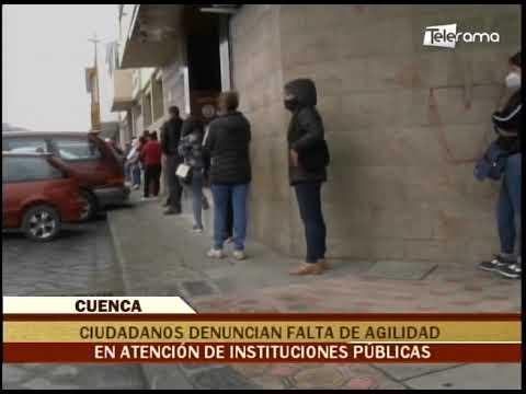 Ciudadanos denuncian falta de agilidad en atención de instituciones públicas