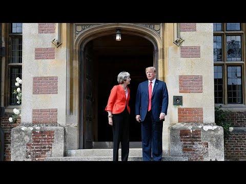 Βρετανία: Αμηχανία, μετά τα σχόλια Τραμπ στην εφημερίδα Sun…
