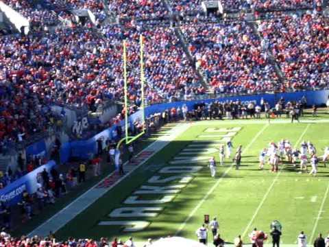 Ohio State Football at the Gator Bowl PAT 2012