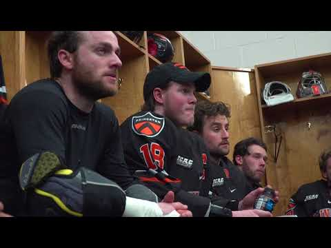 Sights & Sounds: Princeton Men's Hockey ECAC Semifinal Win vs. Cornell (видео)