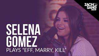 "Video Selena Gomez Plays ""Eff, Marry, Kill"" With Her Songs MP3, 3GP, MP4, WEBM, AVI, FLV Agustus 2018"