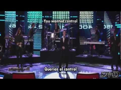 Maroon 5 Ft. Christina Aguilera - Moves Like Jagger HD Live Subtitulado Español English Lyrics
