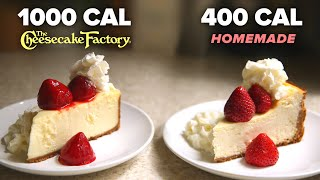 400-Calorie Vs. 1,000-Calorie Cheesecake Slice • Tasty Recipes by Tasty