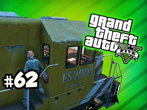 TRAIN RIDE FROM HELL – Grand Theft Auto 5 ONLINE Ep.62