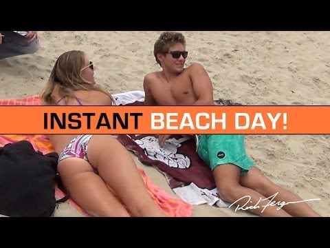 Beach - A fun mix of prank, sun, sexy girls, boys, beach and social experiment - this video of good will was rewarding for all involved! Please share this fun with f...