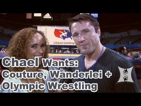 UFC's Chael Sonnen on Facing Randy Couture, Wanderlei Silva + Saving Olympic Wrestling