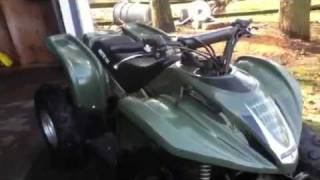 9. 2002 arctic cat 90cc atv