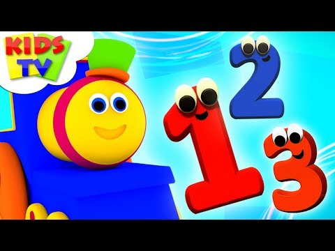 Learn Numbers | Bob The Train | Preschool Nursery Rhymes For Kids | Videos For Babies by Kids Tv