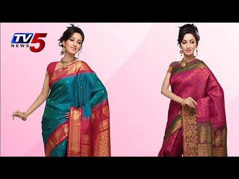 Gadwal Traditional look Saree : TV5 News
