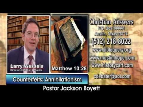 """ANNIHILATIONISM"" TO ESCAPE HELL: ANOTHER DOCTRINE OF THE DEMONS (& JEHOVAH'S WITNESSES & OTHERS)"