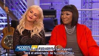 Christina Aguilera & Patti LaBelle - Entrevista AH The Voice 10 (Subtítulos español)