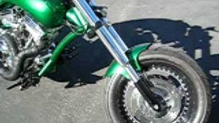5. SculptureCycles Green Steroid Bike Specs-01-14-09