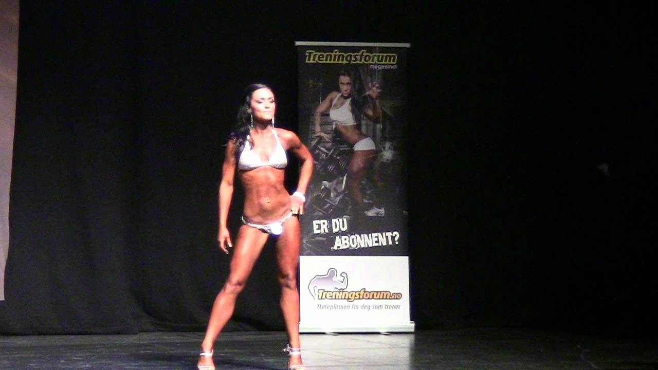 Norway Open 2012 |  Womens bikini-fitness – 163 cm (t-walk)