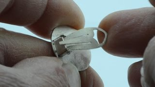 How to build a Lever back Clips Earrings.for jewelry