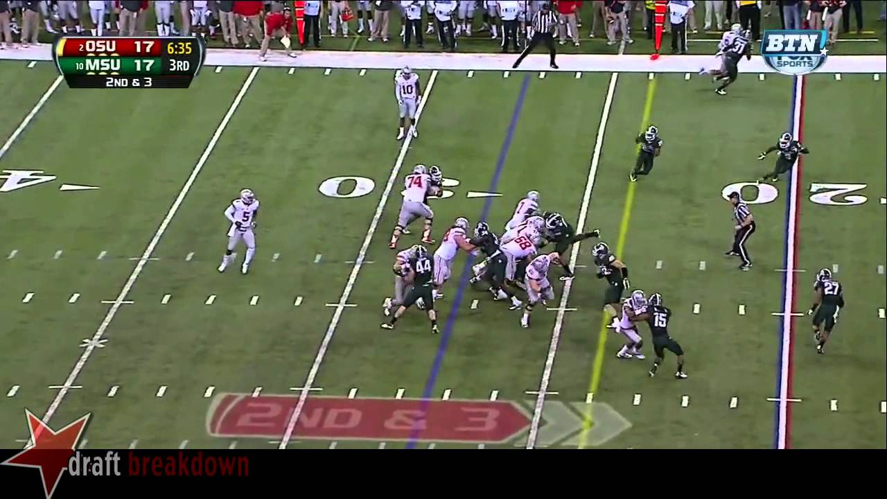 Darqueze Dennard vs Ohio State (2013)