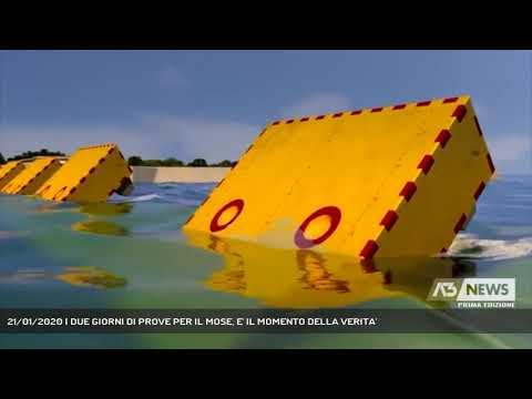 21/01/2020 | DUE GIORNI DI PROVE PER IL MOSE, E' IL MOMENTO DELLA VERITA'