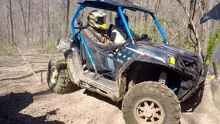 9. RZR S 800 shakedown ride at the Heartland Lodge