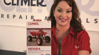 10. Clymer Manuals Honda TRX400EX TRX400 TRX400X Sportrax Fourtrax Shop Service Repair Manual Video