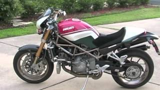 9. 2008 Ducati Monster S4RS Tricolore -- FOR SALE