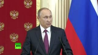 Путин: заказчики фальшивок против Трампа — хуже проституток