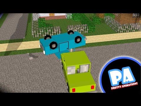 Stupid car a minecraft animation bmw в minecraft 1 4