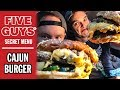 Five Guys Secret Menu Hack: Cajun Double Bacon Burger