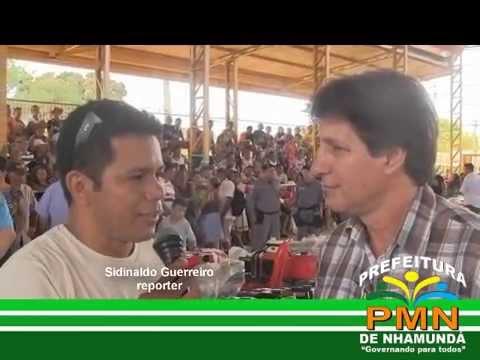 Entrega de implementos agrícolas em Nhamundá  Edmar Vizolli