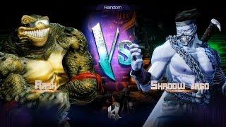 Killer Instinct - Fight 19 - Rash(Holder) vs Shadow Jago(Challenger)