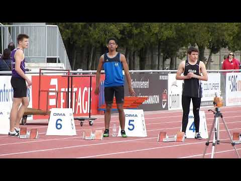 Meeting de Romans 2018 Lucien 50m