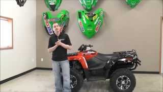 5. 2014 Arctic Cat ATV 700 Limited Edition Vibrant Red & Black