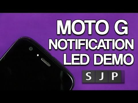 notification - So does the Motorola Moto G have a Notification LED ? YES but multi coloured, check out in my video Moto G Free Space ? http://www.youtube.com/watch?v=8JW2eg...