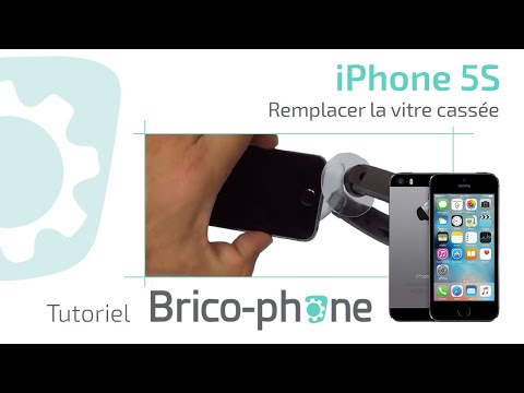 comment reparer la vitre de l'iphone 4
