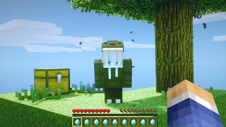 Finding SOLO players on my Minecraft server and making their day...