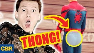 Video Secrets About Tom Holland's Spider-Man That'll Crack You Up! MP3, 3GP, MP4, WEBM, AVI, FLV Oktober 2018