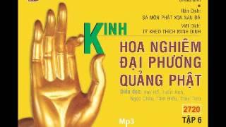Kinh Hoa Nghiêm Đại Phương Quảng Phật - Phần 6 - DieuPhapAm.Net