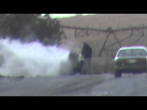 Vintage Top Fuel Blown Nitro Front Engine Dragster Explosion At Central Illinois Dragway!!