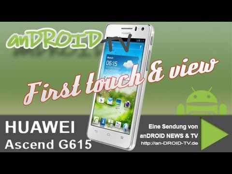 HUAWEI Ascend G615 - First touch & view - Android TV