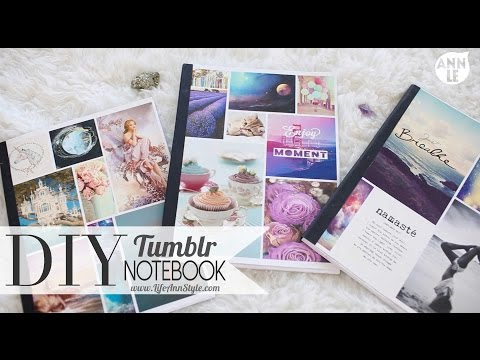 notebook - A lovely viewer requested that I did a DIY Tumblr Notebook and that's what we are going to do today!! SHINERS!! CAN WE GET THIS VIDEO TO 15000 LIKES?!? Tag me if you are going to recreate...