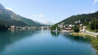 Maloja Switzerland  city photos gallery : Alpy 2015: Maloja - St. Moritz - Zernez - Scuol (Engadin, Graubünden, Switzerland); cycling