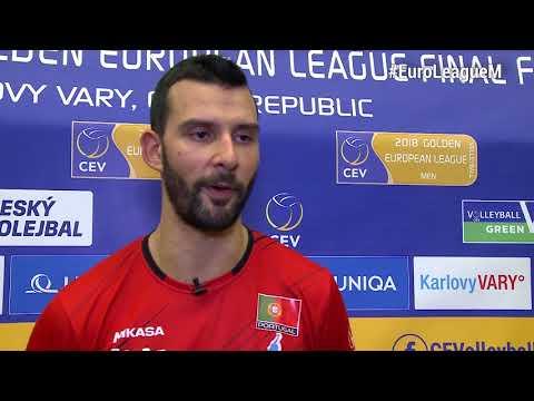 Golden #EuroLeagueM Final Four - 13.06.2018 Estonia vs Portugal: statements after the match (видео)